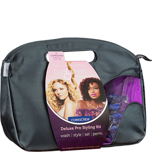 Hair Flair Curlformers Deluxe Pro Styling Kit for Corkscrew Curls - Long Hair (40 ct.)