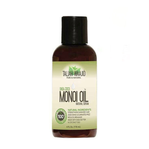 Taliah Waajid Shea-Coco Monoi Oil Natural Serum (4 oz.)