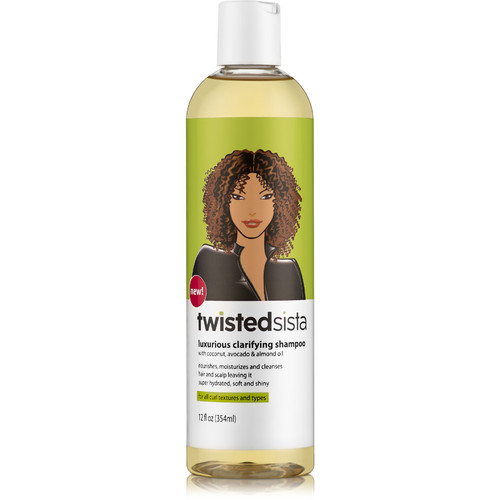Twisted Sista Luxurious Clarifying Shampoo (12 oz.)
