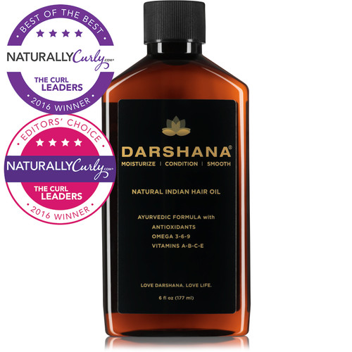 Darshana Natural Indian Hair Oil (6 oz.)