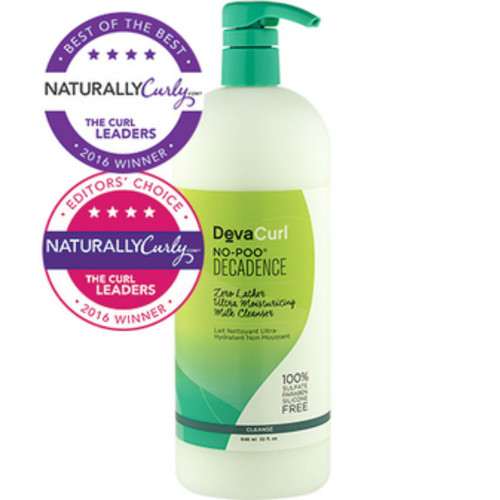 DevaCurl No-Poo Decadence Zero Lather Ultra Moisturizing Milk Cleanser (32 oz.)