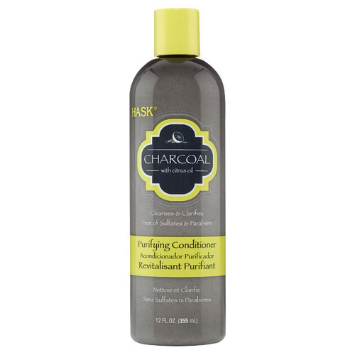 HASK Charcoal with Citrus Oil Purifying Conditioner (12 oz.)