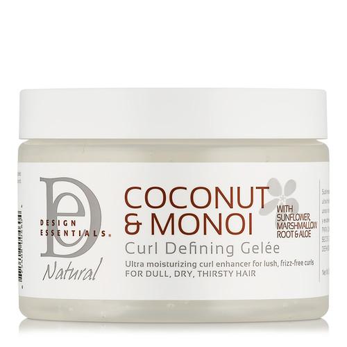 Design Essentials Coconut & Monoi Curl Defining Gelee (12 oz.)