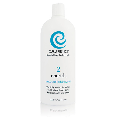 CurlFriends Nourish Rinse-Out Conditioner (1 L.)