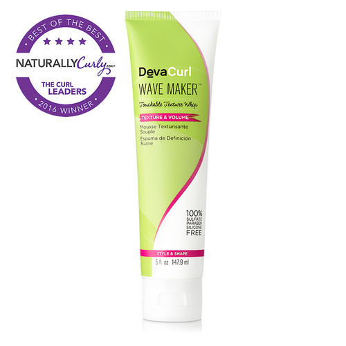 DevaCurl Wave Maker Touchable Texture Whip (5 oz.)