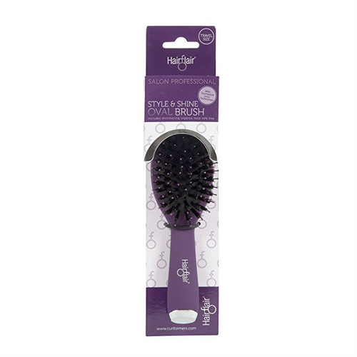 Hair Flair Style & Shine Oval Brush - Travel Size