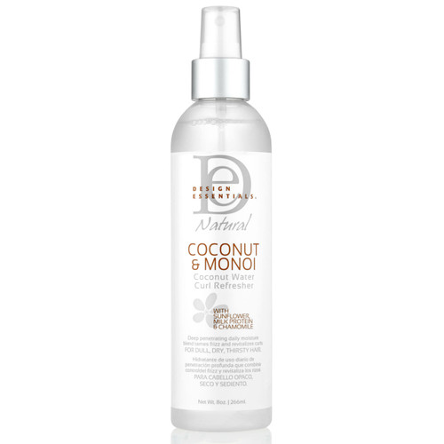 Design Essentials Coconut & Monoi Coconut Water Curl Refresher (8 oz.)