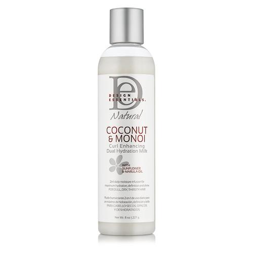 Design Essentials Coconut & Monoi Curl Enhancing Dual Hydration Milk (8 oz.)