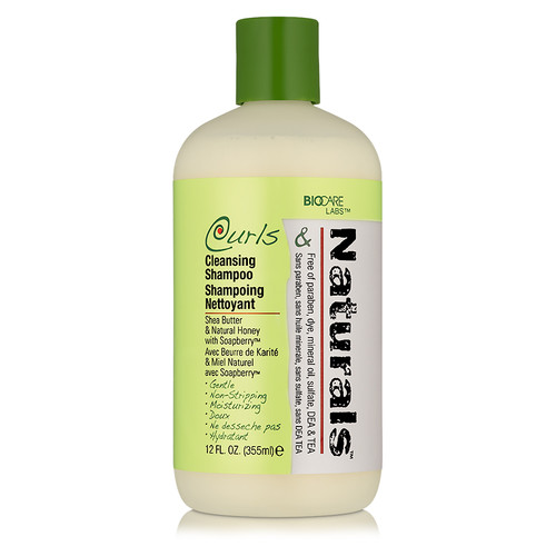 BioCare Labs Curls & Naturals Cleansing Shampoo (12 oz.)