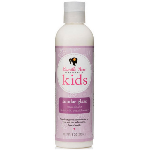 Camillle Rose Naturals Kids Sundae Glaze Mandarin Leave-in Conditioner (8 oz.)