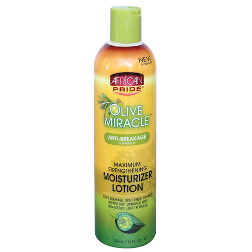 Review: African Pride Olive Miracle Moisturizer Lotion (12 oz.)