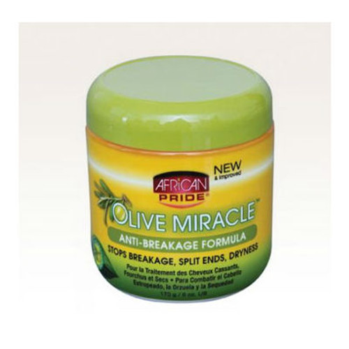 Review: African Pride Olive Miracle Anti-Breakage Formula (6 oz.)