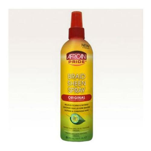 Review: African Pride Braid Sheen Spray - Original (12 oz.)