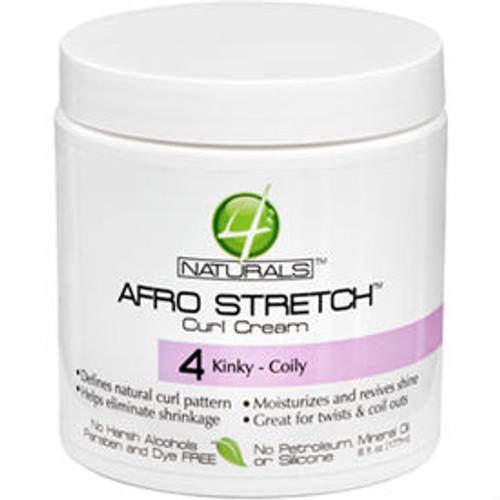 4Naturals Afro Stretch Curl Cream (6 oz.)