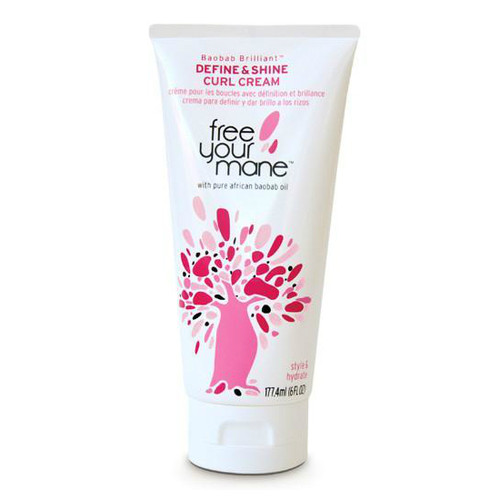 Free Your Mane Define & Shine Curl Cream ( 6 oz.)