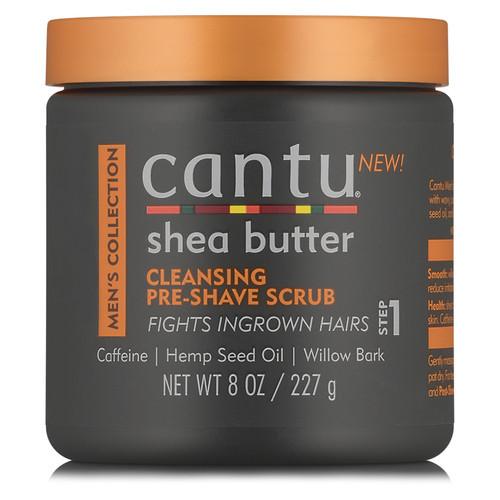 Cantu Men Cleansing Pre-Shave Scrub (8 oz.)