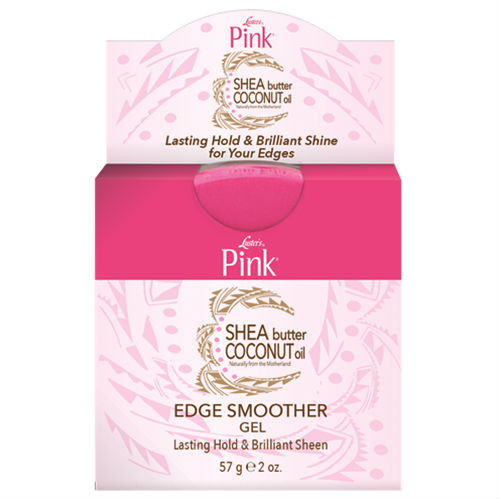 Luster Pink Shea Butter Coconut Oil Edge Smoother Gel (2 oz.)