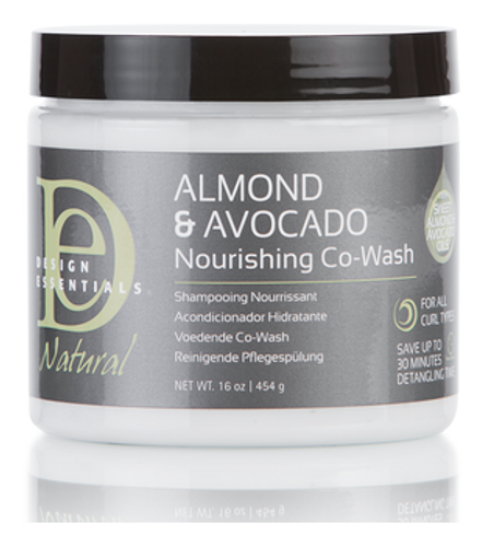 Design Essentials Almond & Avocado Nourishing Co-Wash (16 oz.)