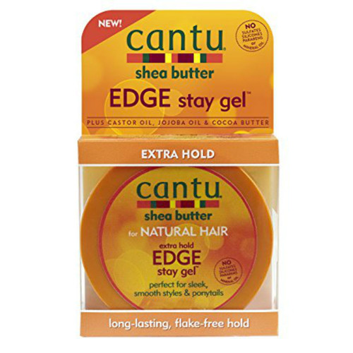 Cantu Shea Butter Extra Hold Edge Stay Gel (2.25 oz.)