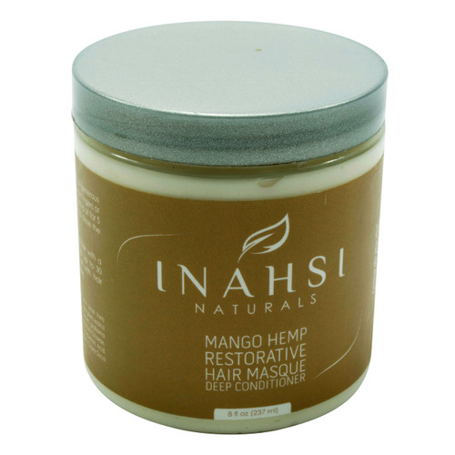 Review: Inahsi Naturals Mango Hemp Restorative Hair Masque Deep Conditioner (8 oz.)