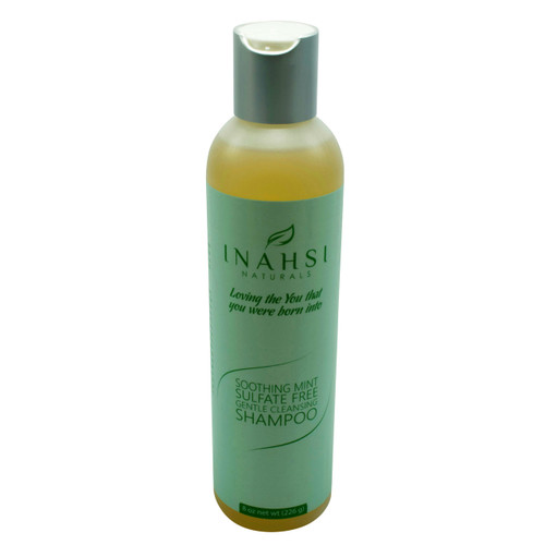 Review: Inahsi Naturals Soothing Mint Sulfate Free Gentle Cleansing Shampoo (8 oz.)