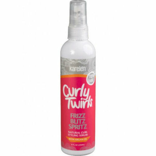 Review: Curly Twirls Frizz Blitz Spritz (8 oz.)