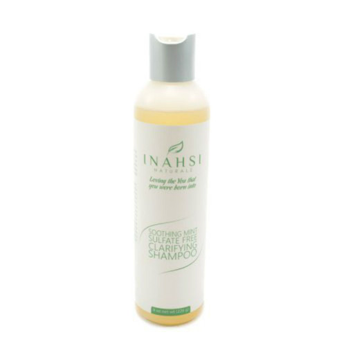 Review: Inahsi Naturals Soothing Mint Sulfate Free Clarifying Shampoo (8 oz.)
