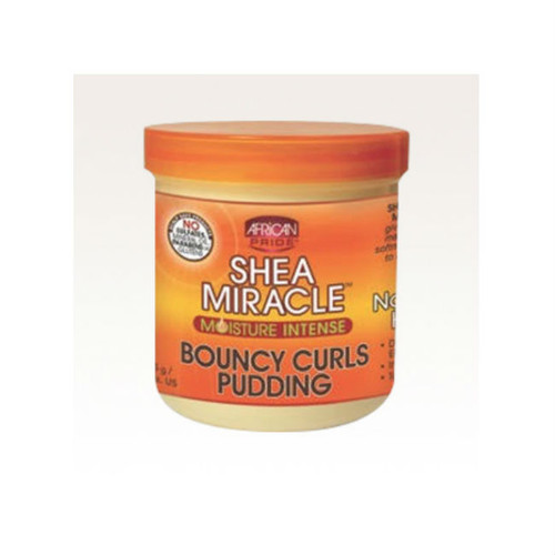 Review: African Pride Shea Butter Miracle Bouncy Curls Pudding (15 oz.)