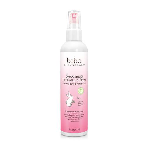 Review: Babo Botanicals Smoothing Detangling Spray (8 oz.)