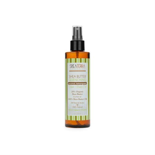 Review: Shea Terra Organics Shea Butter Quenching Hair + Body Oil - Coconut Lemongrass (8 oz.)