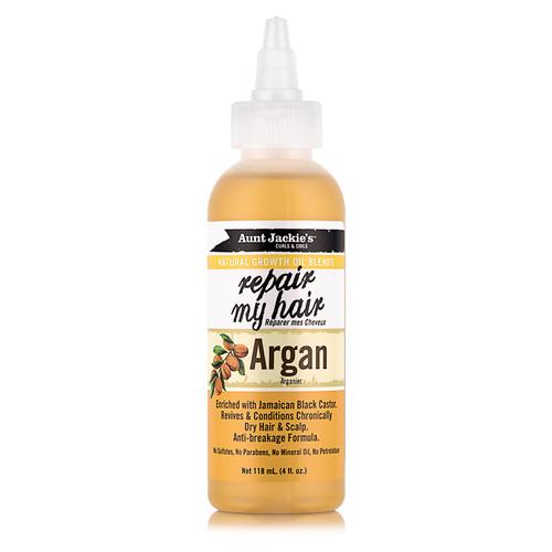 Aunt Jackie's Repair My Hair Argan Natural Growth Oil (4 oz.)
