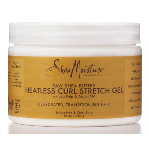Review: SheaMoisture Raw Shea Butter Heatless Curl Stretch Gel (12 oz.)