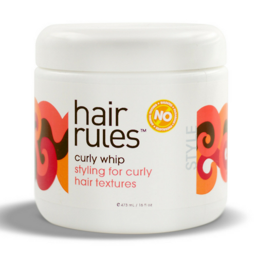 Review: Hair Rules Curly Whip (16 oz.)