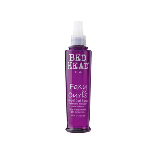 Review: TIGI Bed Head Foxy Curls Hi-Def Curl Spray (6.76 oz.)