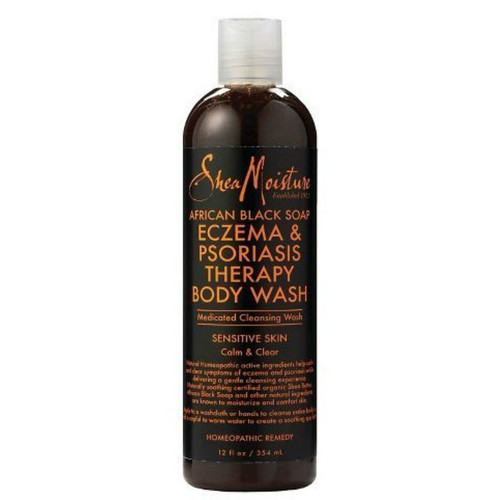 SheaMoisture African Black Soap Eczema & Psoriasis Therapy Body Wash (12 oz.)
