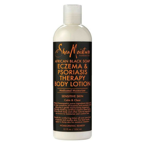 SheaMoisture African Black Soap Eczema & Psoriasis Therapy Body Lotion (12 oz.)