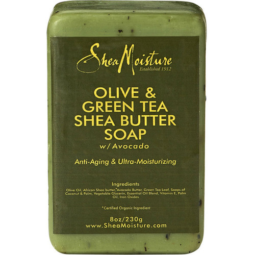 SheaMoisture Olive & Green Tea Shea Butter Soap Bar (8 oz.)