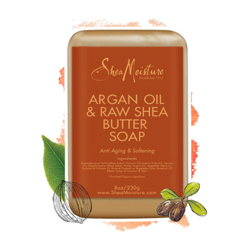 SheaMoisture Argan Oil & Raw Shea Butter Soap Bar (8 oz.)