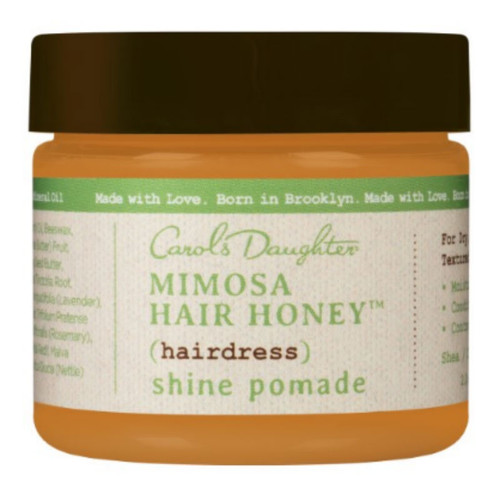 Review: Carol's Daughter Mimosa Hair Honey Shine Pomade (2 oz.)
