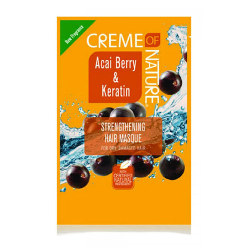 Creme of Nature Acai Berry & Keratin Strengthening Hair Masque (1.75 oz.)