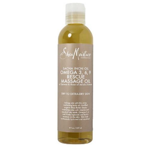 SheaMoisture Sacha Inchi Omega-3-6-9 Rescue & Replenishing Massage Oil (8 oz.)