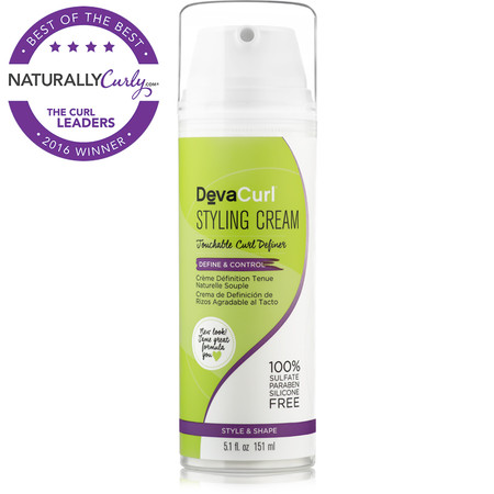 how to use devacurl styling cream