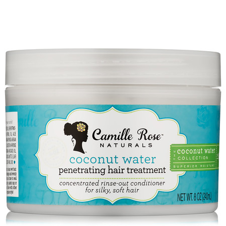 Camille Rose Naturals Coconut Water Penetrating Hair Treatment  Oz