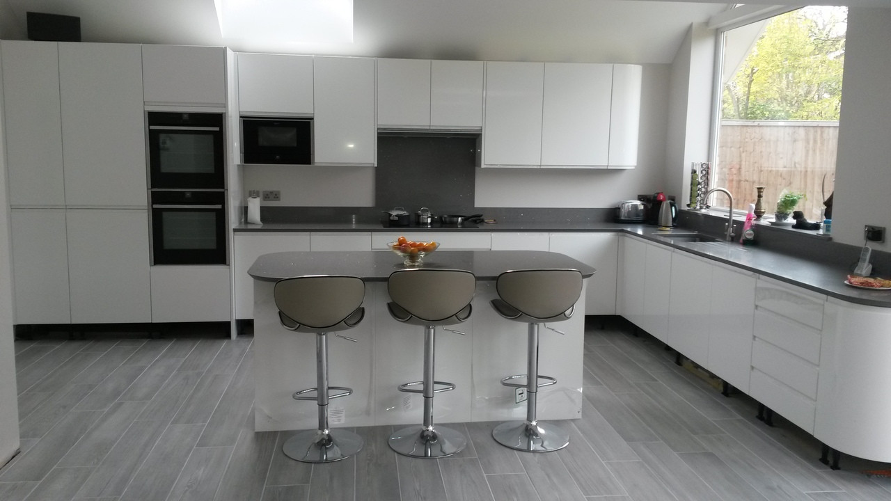 ... Customer Image ... & Carcaso Grey Kitchen Bar Stool - Uniquely Designed islam-shia.org