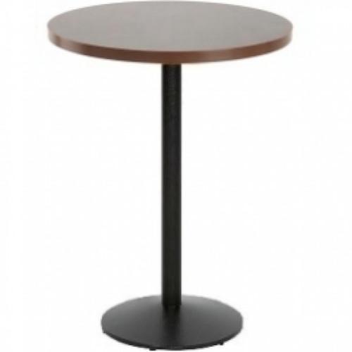 Fiero Poseur Table Round Walnutash