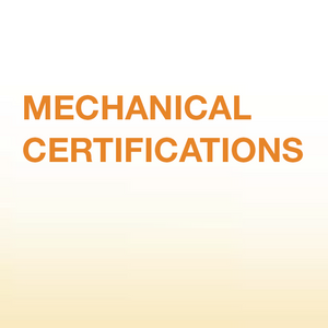Mechanical Certifications