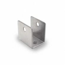 "3/4"" Stamped Stainless Steel U-Bracket (4030.75SS)"