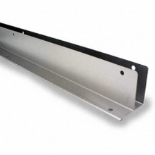 "54"" x 1"" Stainless Steel Continuous L-Bracket (6060SS)"