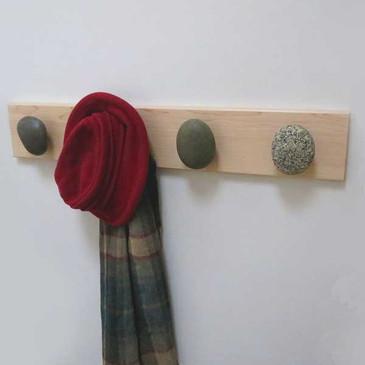 Beach Stone Towel Hook Racks
