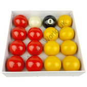 "2"" Competition Pool Ball Set - Includes Cue Ball"
